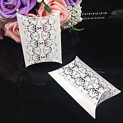 50 Peça/Conjunto Suportes para Lembrancinhas-Almofadado Papel de Cartão Caixas de Ofertas não-personalizado