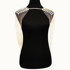 Feminino Bijuteria de Corpo Cadeia corpo / Cadeia de barriga Natureza Moda Estilo Boêmio Liga Dourado Jóias Para Ocasião Especial Casual