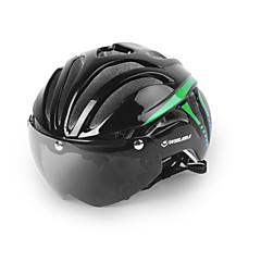 Unisexo Moto Capacete 11 Aberturas Ciclismo Ciclismo Ciclismo de Montanha Ciclismo de Estrada Ciclismo de Lazer Tamanho Único PC EPSVerde
