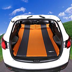 bil Madrass Dobbel(cm)PVC Bærbar Oppblåsbar Justerbare