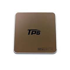 TP6 Amlogic S905X Android TV Box,RAM 2GB ROM 16GB Quad Core WiFi 802.11n בלוטות' 4.0