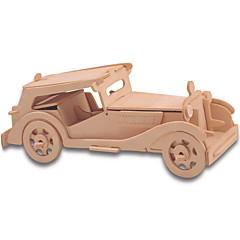 Quebra-cabeças Kit Faça Você Mesmo Blocos de Construir Quebra-Cabeças 3D Brinquedo Educativo Quebra-Cabeça Quebra-Cabeças de Madeira