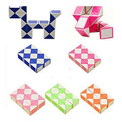 Rubikin kuutio Tasainen nopeus Cube Sileä tarra säädettävä jousi Lievittää stressiä Opetuslelut