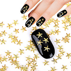 50pcs Neglekunst Dekor Rhinstenperler Sminke Kosmetikk Neglekunst Design
