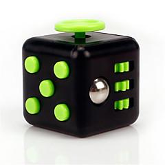 angst reliever være rastløs terningerne kubisk terning pille legetøj til fokusering / stress lindre abs --black&grøn