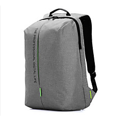 Kingsons Laptop Backpack 15.6 Inch Waterproof Nylon Bags Business Dayback Men and Women's Knapsack