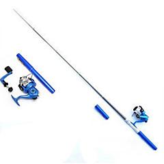 דייג זבובים עטי חכה Iso Rod חכה Iso Rod FRP 100 M דיג בים דיג בחכה דיג קרח חכות וסירת דיג גלילי דיג+ חכות דיגשחור ירוק כסף אדום כחול נמר