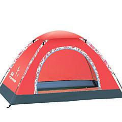 3-4 személy Sátor Egyszemélyes Összecsukható sátor Egy szoba kemping sátor Üvegszál OxfordVízálló Szélbiztos Ultraibolya biztos