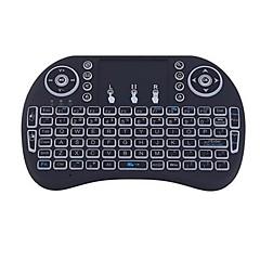 Ar teclado mouse backlit esquilos voando i8 2.4ghz sem fio para Android caixa de tv e pc com touchpad
