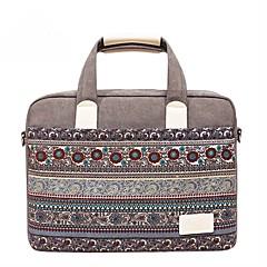 13.3 14.1 15.6 palcový bohemian style šití počítačové tašky kabelka rameno taška pro povrch / dell / hp / samsung / sony atd
