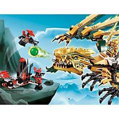 אבני בניין לקבלת מתנה אבני בניין צעצוע בניה ודגם דינוזאור גילאים 5-7 גילאים 8-13 צעצועים