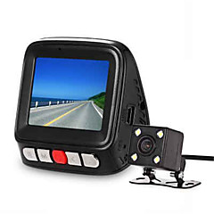 V9 mini bil foran bagved DVR kamera - carbon fiber