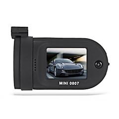 ミニ0807 1296p車のdvrデジタルビデオレコーダー - 黒