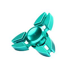 Arc-en-ciel nouveau tri-fougère à main spinner triangle torqbar laiton jouet jouet edc focus
