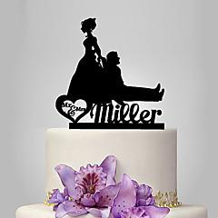 케이크 장식 개인화 클래식 커플 아크릴 웨딩 기념일 결혼 측하 가든 테마 클래식 테마 페어리 테일 테마 소박한 테마 OPP