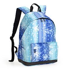 13-tommers lett nylon pu lær reise ryggsekk ryggsekk kvinner skole veske laptop ryggsekken dagsekk for skolearbeid fotturer