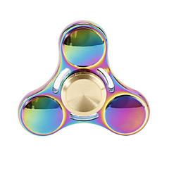 Toupies Fidget Spinner à main Jouets Tri-Spinner Métal EDCPour le temps de tuer Focus Toy Soulagement de stress et l'anxiété Jouets de