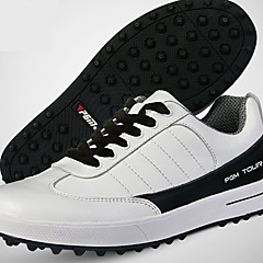 נעלי יומיום נעלי גולף בגדי ריקוד גברים נגד החלקה Anti-Shake ריפוד נושם עמיד בפני שחיקה הצגה סוליה נמוכה גומי ספורט פנאי