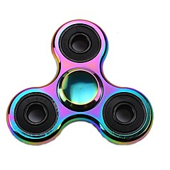 Toupies Fidget Spinner à main Jouets Tri-Spinner Métal EDCSoulagement de stress et l'anxiété Jouets de bureau Soulage ADD, TDAH, Anxiété,