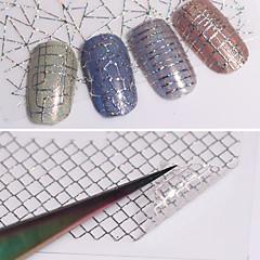 12 Adesivos para Manicure Artística Transferência de água adesivo maquiagem Cosméticos Designs para Manicure