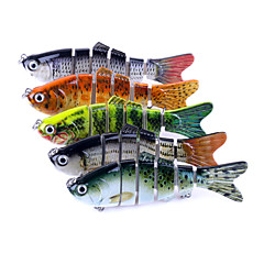 "5 Stk. Fiskefluer Elritse gedde g/Unse,100mm mm/7"" TommerHavfiskeri Spinning Vippefiskeri Ferskvandsfiskere Flue Fiskeri Generel Fiskeri"