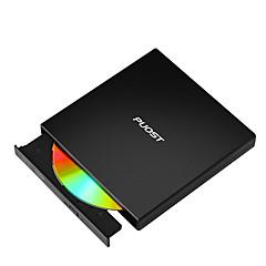 Εξωτερική συσκευή εγγραφής καυστήρα dvd-rw / cd-rw μονάδα οπτικού δίσκου CD dvd writer