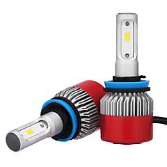 2ks H8 H9 H11 7200LM csp LED reflektor 72 W LED auto světlometu žárovka mlhového světla 6500 K 12 V