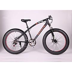Sniježni bicikl Biciklizam 7 Brzina 26 inča/700CC Dvostruka disk kočnica Suspension Fork Čelični okvir Okvir hard-tail Običan Anti-Slip