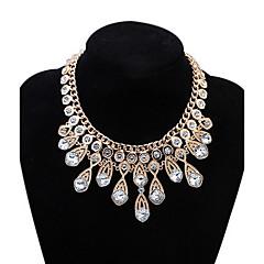 Žene Djevojčice Choker oglice Ogrlice s privjeskom Izjava Ogrlice imitacija Diamond Ispustiti Jewelry Opeka LeguraOsnovni dizajn