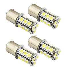 4pcs 1156 / ba15s / 1157 3w LED電球18 smd 5050テールライト/ブレーキ/ターン/ストップライトDC 12V白/暖かい白