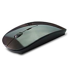 Mais novo mouse sem fio de 2.4ghz óptico bluetooth usb botão laptop mouse mouse sem fio com nano usb receptor preto e branco