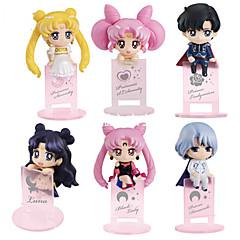 アニメのアクションフィギュア に触発さ 美少女戦士セーラームーン コスプレ ポリ塩化ビニル 10 cm モデルのおもちゃ 人形玩具
