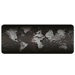 Grande mapa do mundo mouse pad (30x80x0.2cm)