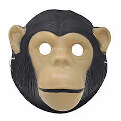 Halloween-Masken Tiermaske Affe Horror-Theme Unisex