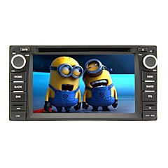 Rungrace 2017 6.2inch Double Din Touch Screen Car DVD Player for Toyota RL-302WGN02