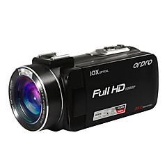 Plast Digital Kamera Høy definisjon Sensor Mikro-USB Fjernkontroll 1080P Smil Deteksjon Lett å bære Miracast