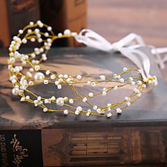 プラチナ 人造真珠 かぶと-結婚式 誕生日 コサージュ 1個
