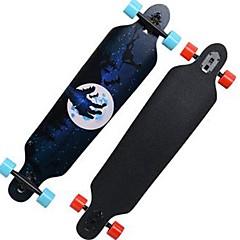 32 Inch Complete Skateboards Longboards Skateboard Standardi Skateboards Kevyt Vaahtera 608ZZ-Musta Punainen Sininen Kuvio