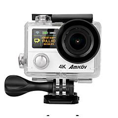 AMKOV AMK8000S 2MP 30fps 2 CMOS H.264 Multi Idiomas Disparo Simples Disparo Contínuo Time-lapse 30 M