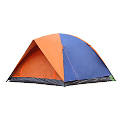 3-4人 テント 折り畳みテント キャンプテント キャンバス 防水 保温 防雨 折り畳み式