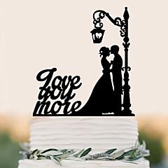 Decorações de Bolo Alta qualidade Casamento Aniversário Casamento Aniversário Bolsa PVS