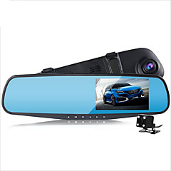 Dual Lens Car Camera Rearview Mirror Full Hd 1080p Night Vision Auto Dvrs Cars Dvr arking Video Recorder Registrator Dash Cam