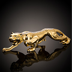 Diy automotive koristeet raha leopardi auto koristeet auto riipus&Koristeet metalli