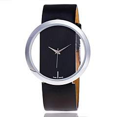 XU Women's Transparent Hollow Out Casual Wrist Watch