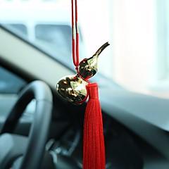 DIY bilvedlikehold bil anheng gull gourd ornamenter interiør smykker ornamenter kinesisk dusker luksus modeller bil anheng&Ornamenter