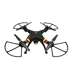 Drone X188 Canal 4 6 Eixos Com Câmera HD de 5.0MPIluminação De LED Retorno Com 1 Botão Modo Espelho Inteligente Posicionamento GPS