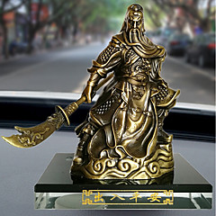 DIYの自動車装飾品勇敢な仏のビーズguanの漫画の人形の車のペンダント&装飾金属