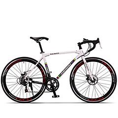 Cruiser Bikes Pyöräily 14 Nopeus 26 tuumaa/700CC SHIMANO TX30 Levyjarru Ei vaimennusta Alumiiniseosrunko Liukkauden esto Aluminum Alloy