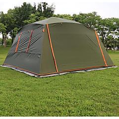 5-8 henkilöä Teltta Yksittäinen teltta Yksi huone Taitettava teltta Vedenkestävä Tuulenkestävä Aurinkovoide Repeytymätön varten Retkeily