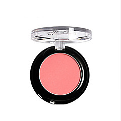 Blush Secos Pó Gloss Colorido Cobertura Longa Duração Natural Olhos Rosto